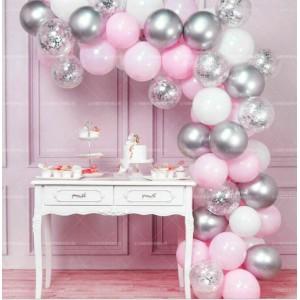 Комплект шаров для арки ( 125 шт ) 020