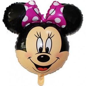 Кулька надувна голова Мінні Маус - 60 см