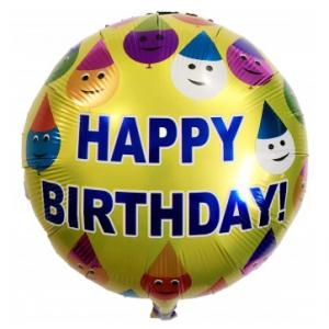 Кулька Коло 18 дюймів happy birhtday 13 ( 45 см )