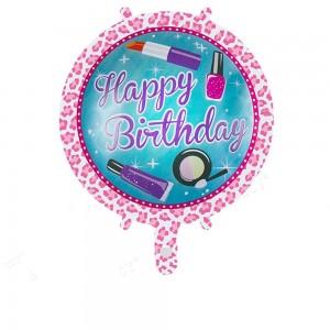 Кулька Коло 18 дюймів happy birhtday 06 ( 45 см )