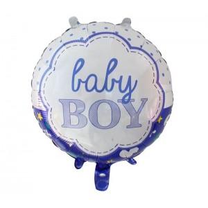 Кулька Коло 18 дюймів BABY BOY ( 45 см )
