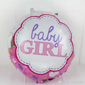 Кулька Коло 18 дюймів BABY GIRL ( 45 см )