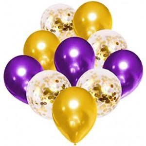 Набор воздушных шаров с конфетти 018 (30 см - 10 шт)
