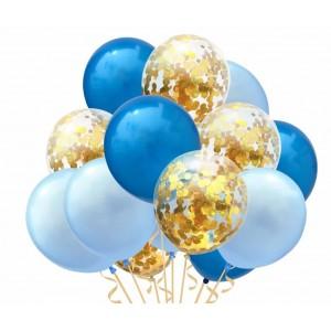 Набор воздушных шаров 011  ( 30 см - 15 шт )