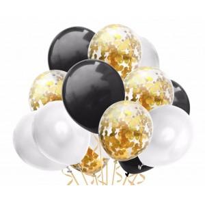 Набор воздушных шаров 015  ( 30 см - 15 шт )