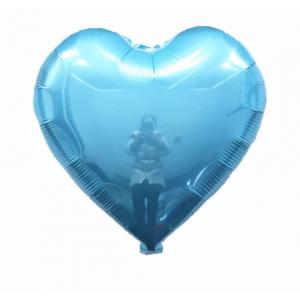 Кулька Сердце 18 дюймів ( 45 см ) БЛАКИТНЕ