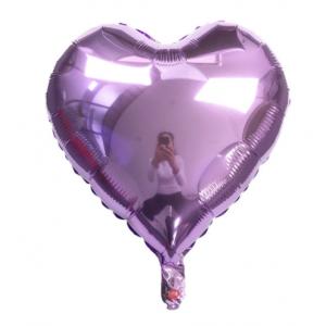 Кулька Сердце 18 дюймів ( 45 см ) БУЗКОВЕ