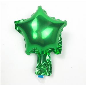Шарик Звезда 5 дюймов ( 13 см ) ЗЕЛЁНАЯ