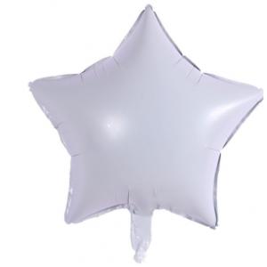 Кулька Зірка 18 дюймів ( 45 см ) БІЛА