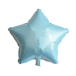 Шарик Звезда 10 дюймов ( 25 см ) ГОЛУБАЯ