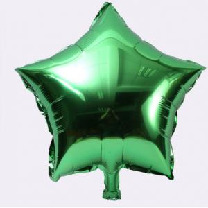 Кулька Зірка 10 дюймів ( 25 см ) ЗЕЛЕНА