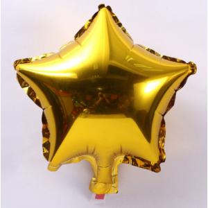 Кулька Зірка 18 дюймів ( 45 см ) ЗОЛОТО