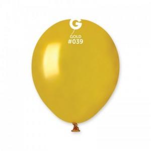 Повітряна кулька 5 дюймів (13 см) ЗОЛОТО металік