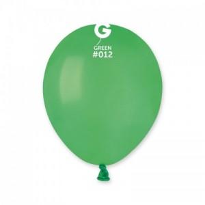 Повітряна кулька 5 дюймів (13 см) ЗЕЛЕНА пастель