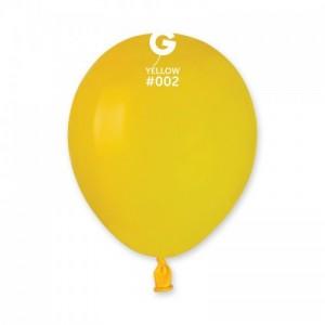 Повітряна кулька 5 дюймів (13 см) ЖОВТА пастель