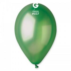 Повітряна кулька 10 дюймів (25 см) ЗЕЛЕНА металік