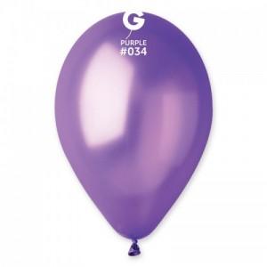 Повітряна кулька 12 дюймів (30 см) ФІОЛЕТОВА металік