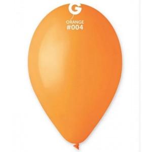 Повітряна кулька 10 дюймів (25 см) ПОМАРАНЧЕВА пастель