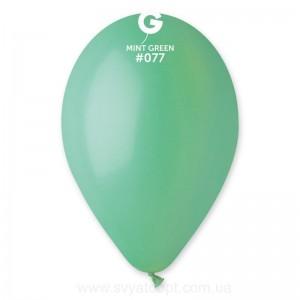 Повітряна кулька 12 дюймів (30 см) М'ЯТНА пастель