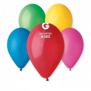 Повітряна кулька 10 дюймів (25 см) АСОРТІ пастель