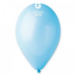 Повітряна кулька 12 дюймів (30 см) БЛАКИТНА пастель