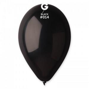 Повітряна кулька 12 дюймів (30 см) ЧОРНА пастель