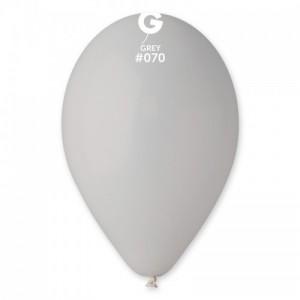 Повітряна кулька 12 дюймів (30 см) СІРА пастель