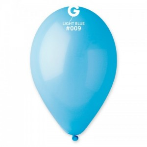 Повітряна кулька 10 дюймів (25 см) БЛАКИТНА пастель