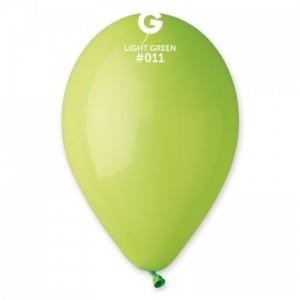 Повітряна кулька 10 дюймів (25 см) САЛАТОВА пастель