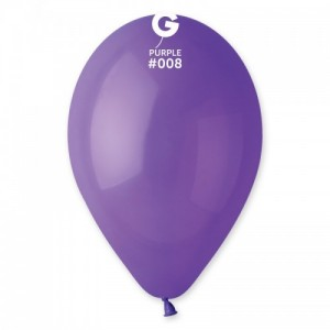 Повітряна кулька 12 дюймів (30 см) ФІОЛЕТОВА пастель