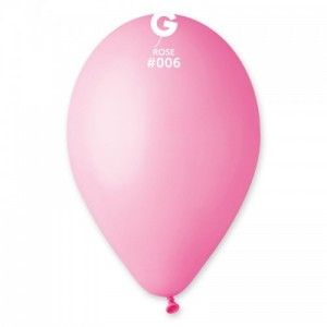 Повітряна кулька 12 дюймів (30 см) РОЖЕВА пастель