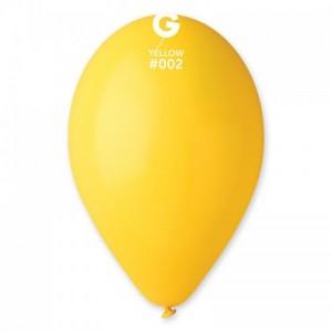 Повітряна кулька 12 дюймів (30 см) ЖОВТА пастель
