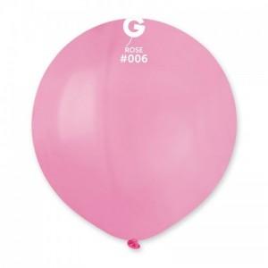 Повітряна кулька 19 дюймів (48 см) РОЖЕВИЙ пастель