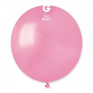 Повітряна кулька 19 дюймів (48 см) НІЖНО РОЖЕВА пастель