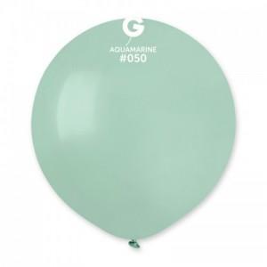 Повітряна кулька 19 дюймів (48 см) АКВАМАРИН пастель