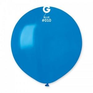 Повітряна кулька 19 дюймів (48 см) СИНЯ пастель