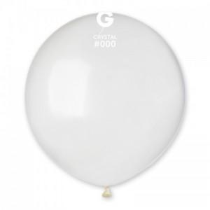 Повітряна кулька 19 дюймів (48 см) ПРОЗОРА кристал