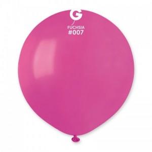 Повітряна кулька 19 дюймів (48 см) ФУКСІЯ пастель