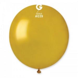 Повітряна кулька 19 дюймів (48 см) ЗОЛОТО металік
