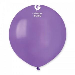 Повітряна кулька 19 дюймів (48 см) БУЗКОВА пастель