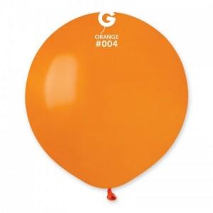 Повітряна кулька 19 дюймів (48 см) ПОМАРАНЧЕВА пастель
