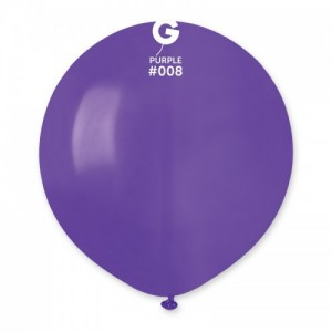 Повітряна кулька 19 дюймів (48 см) ФІОЛЕТОВА пастель