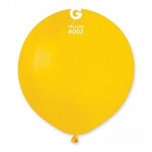Повітряна кулька 19 дюймів (48 см) ЖОВТА пастель