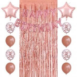 """Набір куль на день народження, """"HAPPY BIRTHDAY"""" 058"""