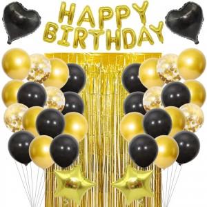 """Набор шаров на день рождения, """"HAPPY BIRTHDAY"""" 054"""
