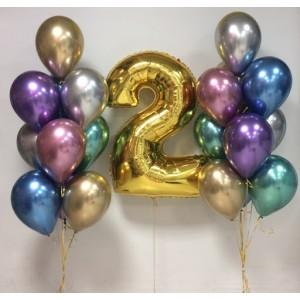 Набір повітряних куль на день народження 048
