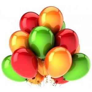 Набор воздушных шаров 05 (25 см - 21 шт)