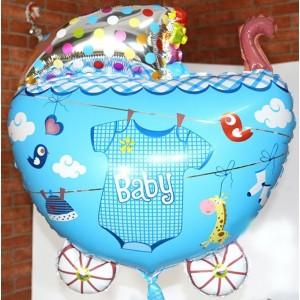 Кулька надувна Коляска Для Хлопчика