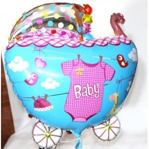 Кулька надувна Коляска Для Дівчинки