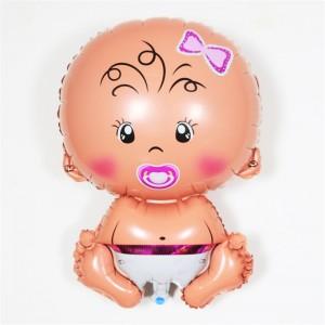 Кулька надувна Пупс Дівчинка  60 см